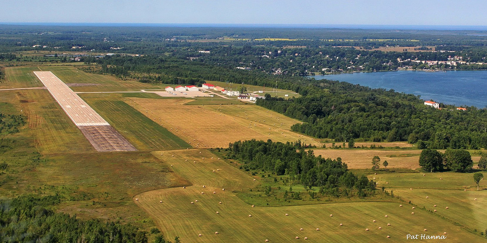 Scenic Approach to Wiarton-Keppel International Airport
