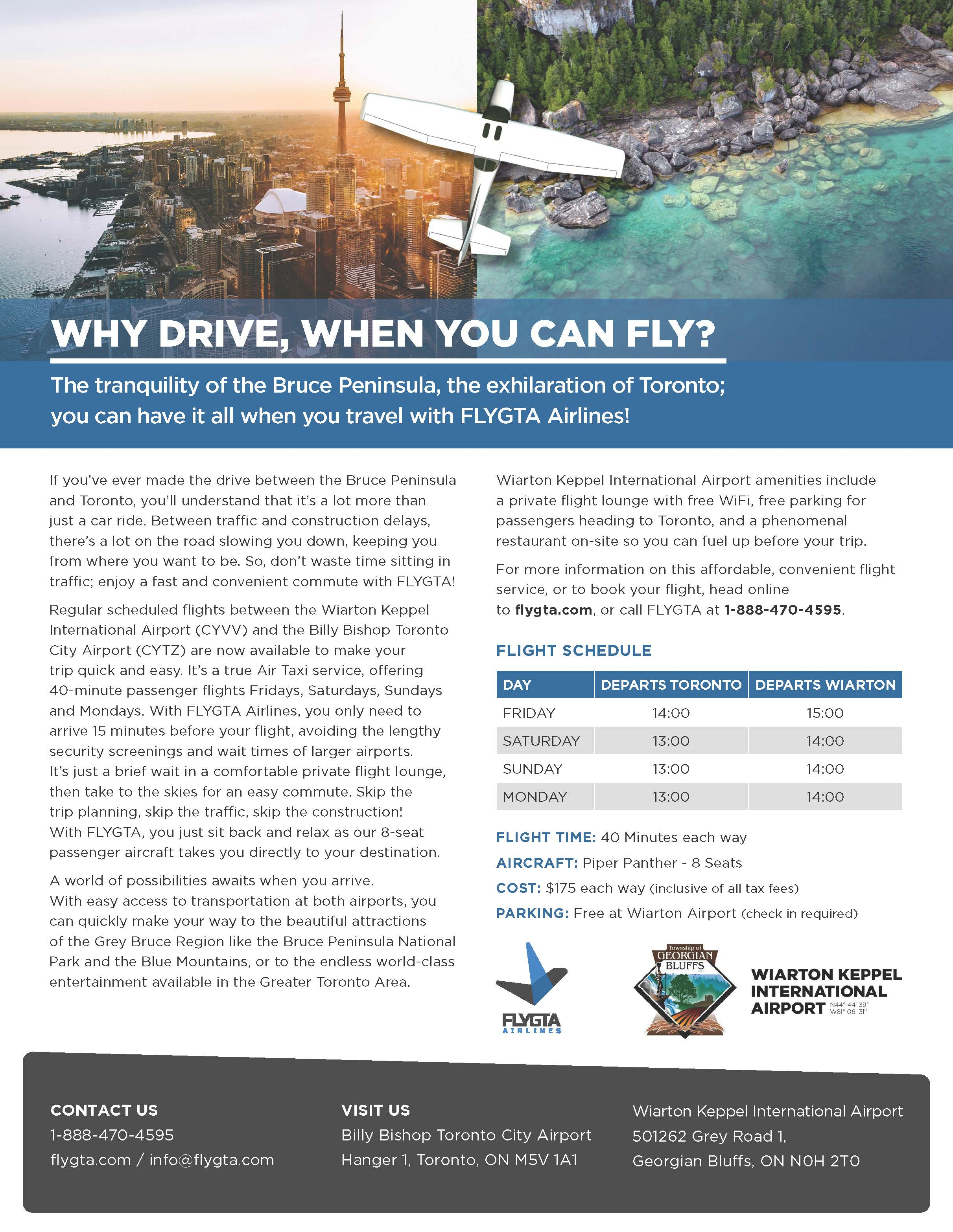 FLYGTA Promotional Flyer